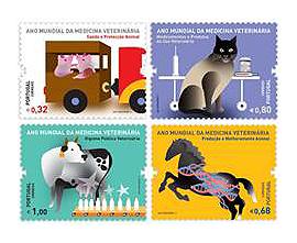 Selos_ano_mundial_veterinaria_2011